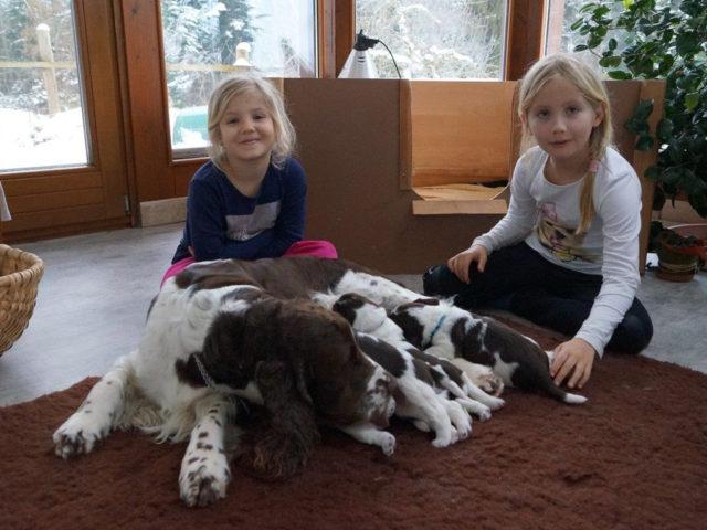 Unsere Enkelkinder zu Besuch